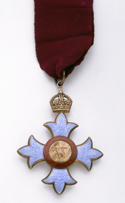 Mawson's Commander of the Order of the British Empire medal