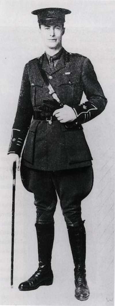 Mawson served as an officer with the Ministry of Munitions in England during World War One